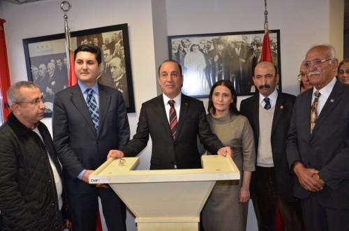 Süleyman Kartal , CHP 2.bölgeden aday adaylıgını açıkladı