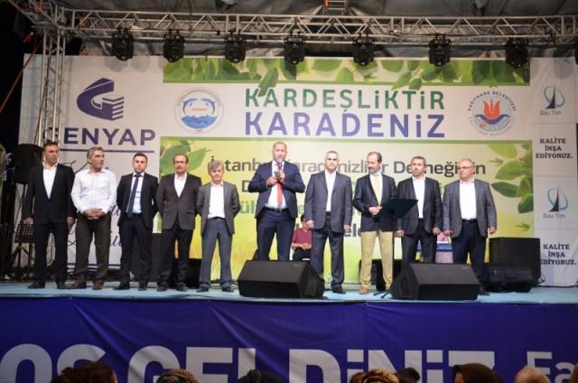 Kardeşlik Karadenizdir festivali Kağıthane'de başladı