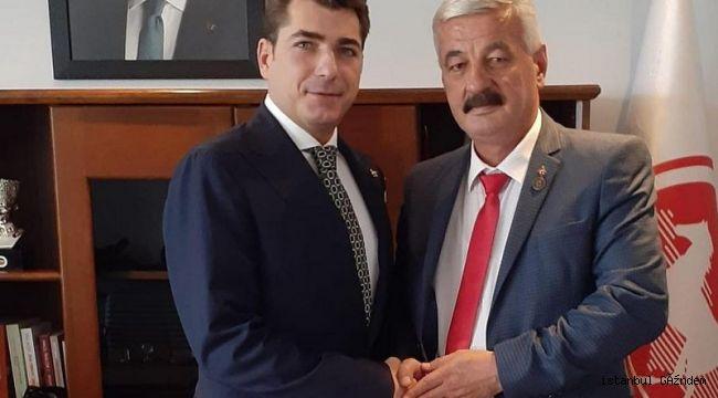 'Efsane Muhtar' Korkmaz, DP İlçe Başkanı Oldu