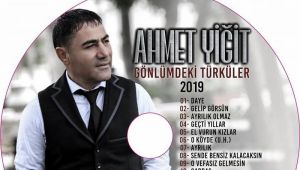 Ahmet Yiğit'in Yeni Albümü Yolda