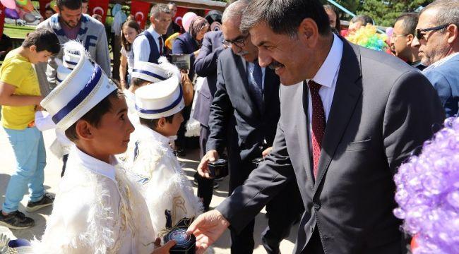 Erzincan Belediyesi'nden Sünnet Şöleni