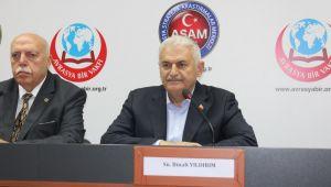 Binali Yıldırım, ASAM'ın Açılış Programına katıldı