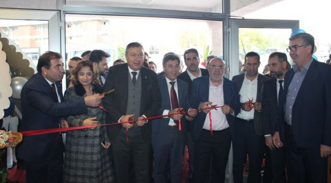 İOSİD Merkezi, Muhteşem Törenle Açıldı