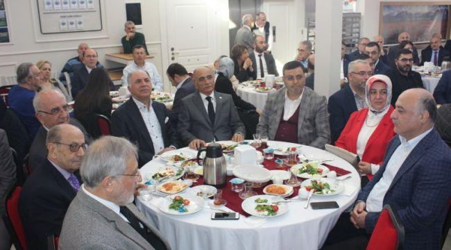 EKEV, YEREL YÖNETİCİLERİ VE STK'LARI KAHVALTIDA BULUŞTURDU