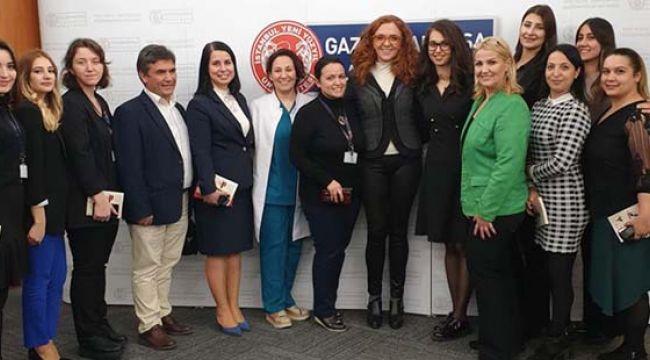 GOP Hastanesi'nin Konuğu Nora Romi Oldu