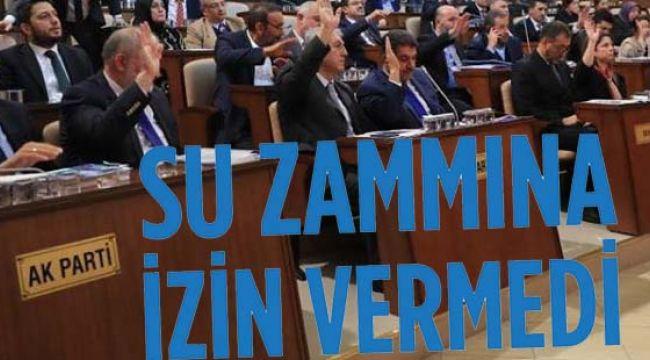 İBB'nin Su Zammını Ak Parti Durdurdu!