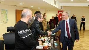 Başkan Dursun, Gazetecilerle Buluştu!