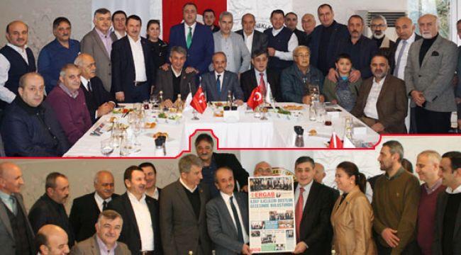 İLDEF, ERGAB'ın Gazeteceler Gününü Kutladı