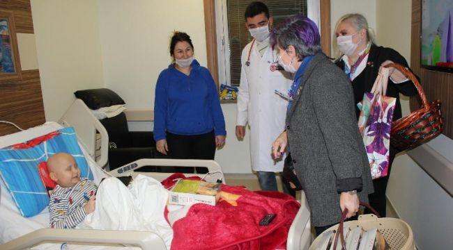 Ispartakule Rotary Kulübü'nden Özel GOP Hastanesine Ziyaret