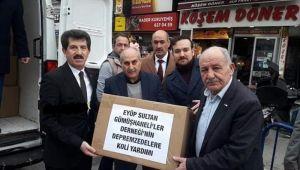 Eyüp Sultan Gümüşhaneliler Derneği'nden Elazığ'a Yardım