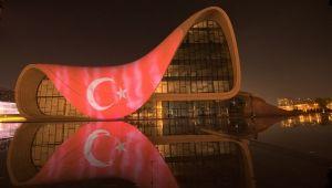 Azerbaycan'dan 'Türkiye' sürprizi! Anlamlı destek!