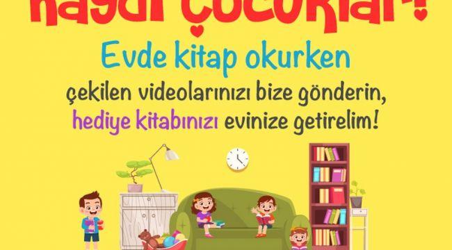 Bayrampaşa'da Çocuklara 'Evde Kal' Kitap Hediyesi