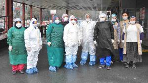 Eyüpsultan Devlet Hastanesi Temizliği İçin Özel Ekip!
