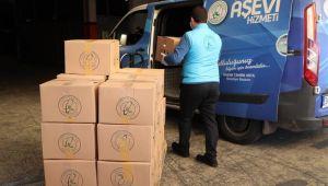 Gaziosmanpaşa'da İhtiyaç Sahibi Ailelere 40 Bin Koli Erzak Desteği