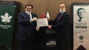 Gelecek Parti'nin İzmit İlçe Başkanlığı'na Alper Gülebaş Atandı