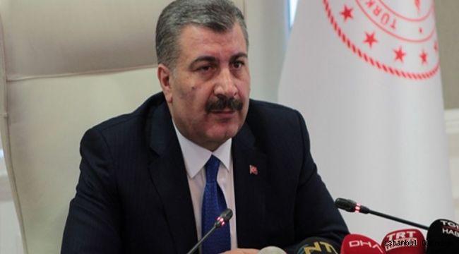 Sağlık Bakanı Koca: ''Toplam vefat sayısı Bin 6 oldu''