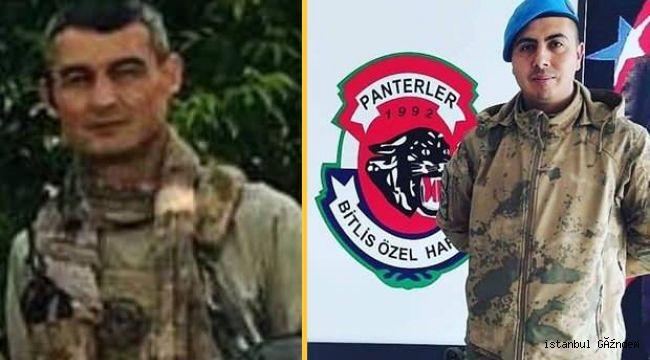 Bitlis'te 2 askerimiz şehit, 4 askerimiz yaralandı!