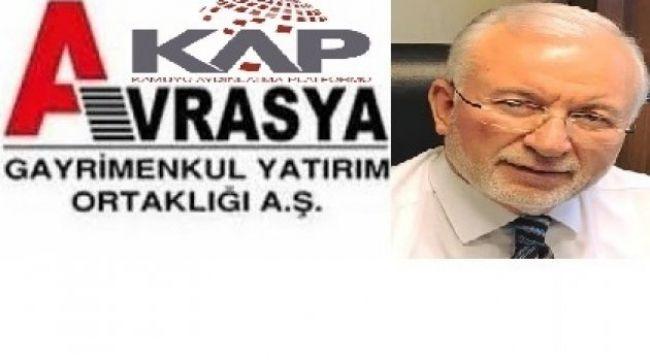 Emekli Vekil Hüseyin Bürge, AVGYO Yönetim Kuruluna Seçildi...