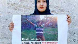 Doğu Türkistanlı Mağfire, insanlığın vicdanına Ağabey'ini soruyor!