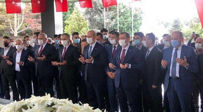 Adnan Menderes mezarı başında anıldı