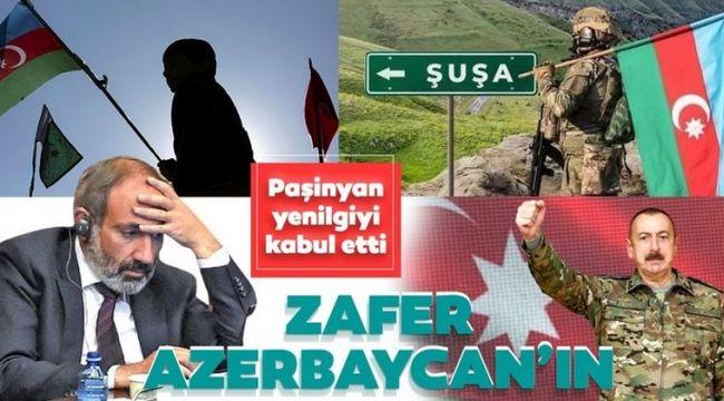 Ermenistan Yenilgiyi Kabul Etti!..
