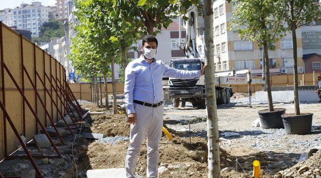KAĞITHANE'DE SONBAHARIN RENGİ YEŞİL