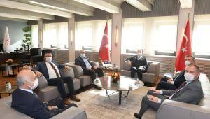 Başkan Üner, Çatalca için Ankara'da Yoğun Çalıştı