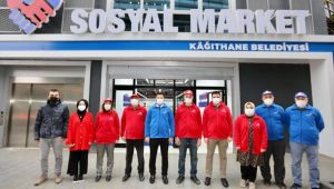 KAĞITHANE'YE HEM SÜPER HEM DE SOSYAL MARKET