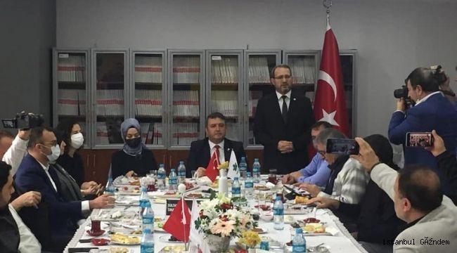 Gelecek Partisi, Sultangazi'de Gazetecileri Ağırladı
