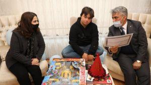 Vali Makas'tan Abdulkerim'e Sürpriz Ziyaret!