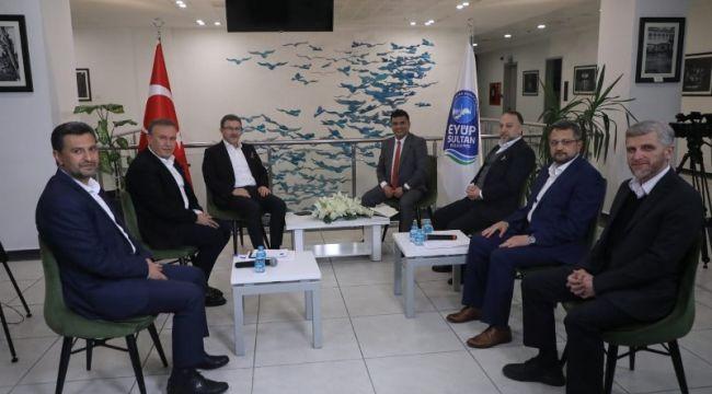 Başkan Deniz Köken: 'Eyüpspor ve Alibeyköy Spor'un başarısı önemli'