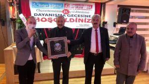 BAYRAMPAŞA & HABER İSTANBUL GAZETELERİ 21. YIL DÖNÜMÜ KUTLANDI...
