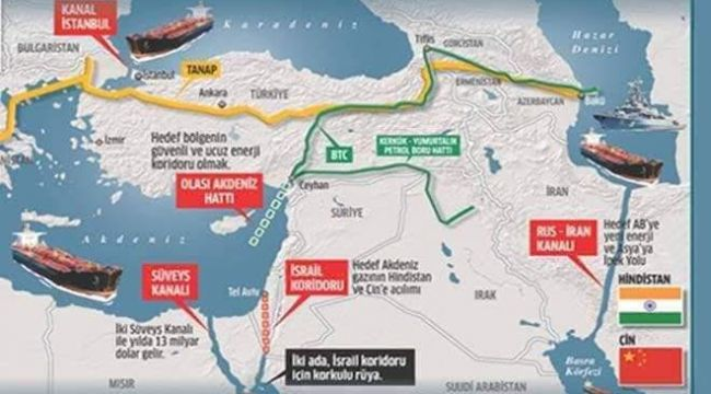 Dünya Ticaret Yolları ve Yeni Kanal Projeleri
