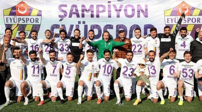 Eyüpspor Şampiyon Oldu ve 1. Lig'e Yükseldi!..