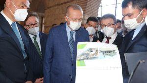 Cumhurbaşkanı Erdoğan, Rami Kışlası'nı İnceledi...