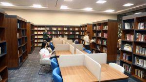 Bağcılar Belediyesi içinde sıradışı bir kütüphane