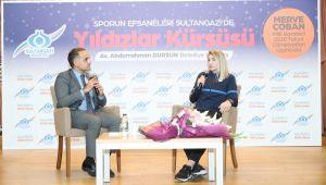 Olimpiyat Şampiyonu Milli Karateci Merve Çoban, Sultangazili Gençlerle Buluştu