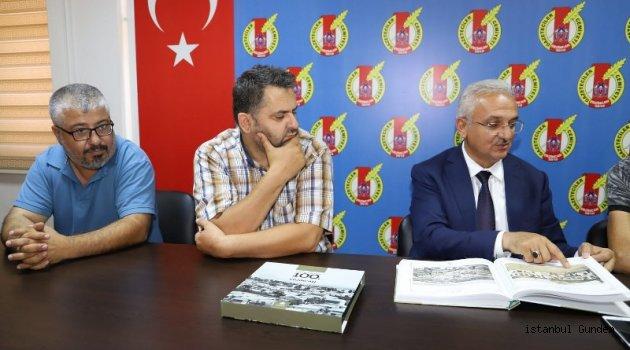 Başkan Başsoy'dan Gazeteciler Cemiyeti'ne Ziyaret