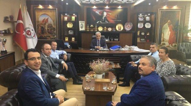 Başkan Karakol' dan Kamu Kurumlarına Ziyaret