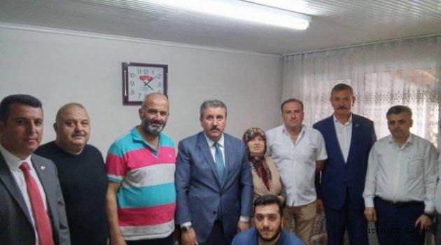 BBP Genel Başkanı Mustafa Destici Gaziosmanpaşa' da