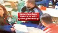 Bomba Ankara'ya valiz içinde götürülmüş