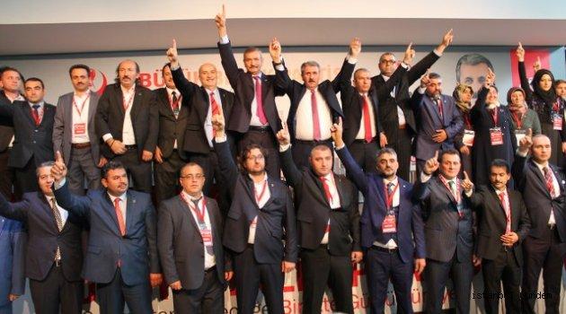 Büyük Birlik Partisi İstanbul İl Başkanı Mustafa Mican Güven Tazeledi