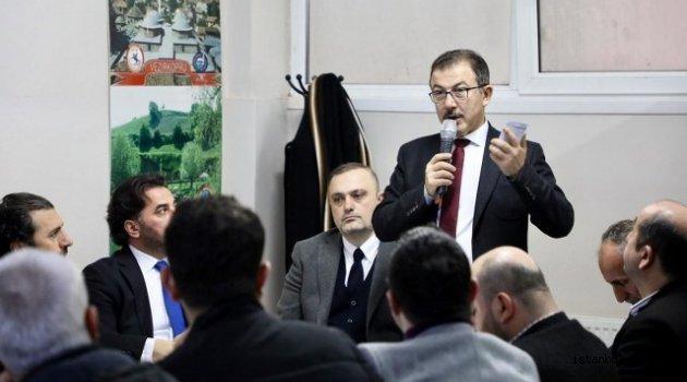 Eyüp AK Parti Belediye Başkan Adayı Köken Samsunlular Derneğini Ziyaret Etti