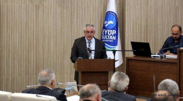 Eyüpsultan Belediyesi Meclisi, 2019 mali yılı bütçesini görüşmek ve karara bağlamak için toplandı.