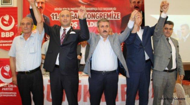 Gaziosmanpaşa BBP' de Başkan Karakol Güven Tazeledi
