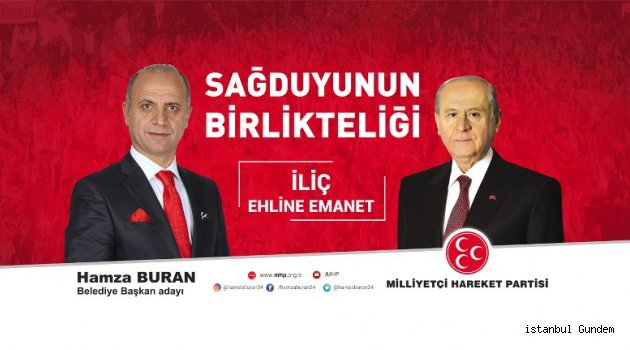 Hamza Buran: ''İliç, Erzincan'ın Marka İlçesi Olacak''