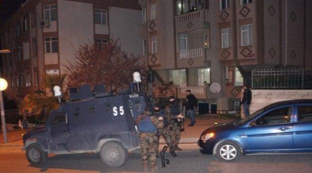 İstanbul'da 2 ilçede PKK'ya operasyon