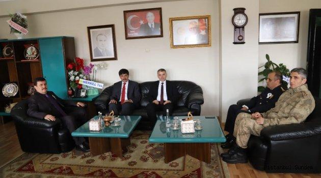 Başkan Aksun'a, İl Protokolünden Hayırlı Olsun Ziyareti