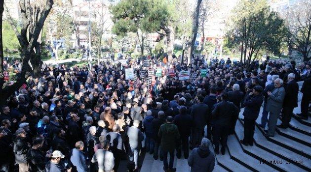 Bayrampaşa Halkı ABD' yi Kudüs Kararını Protesto Etti