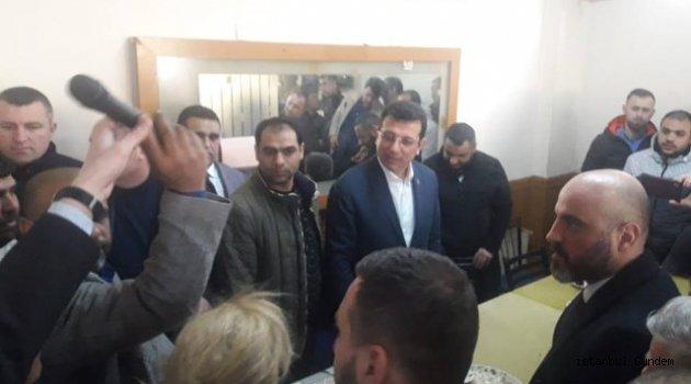 Ekrem İmamoğlu Gaziosmanpaşa' da